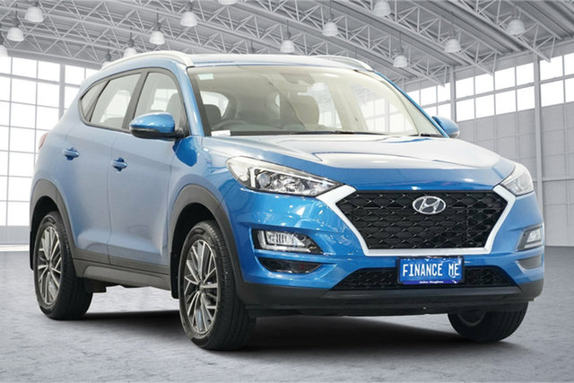 Used Hyundai Tucson TL4 MY20 Active X 2WD Victoria Park, 2020 Hyundai Tucson TL4 MY20 Active X 2WD Aqua Blue 6 Speed Automatic Wagon