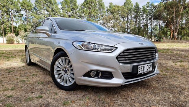 Used Ford Mondeo MD Trend Nuriootpa, 2016 Ford Mondeo MD Trend Moondust Silver 6 Speed Sports Automatic Hatchback