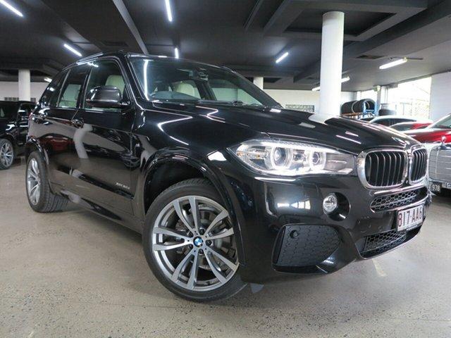 Used BMW X5 F15 xDrive30d Albion, 2015 BMW X5 F15 xDrive30d Black Sapphire 8 Speed Sports Automatic Wagon