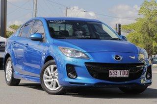 2013 Mazda 3 BL1072 MY13 SP20 SKYACTIV-Drive SKYACTIV Blue 6 Speed Sports Automatic Sedan.