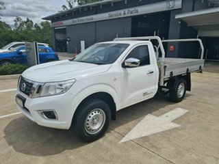 2015 Nissan Navara D23 RX 4x2 White 6 Speed Manual Cab Chassis