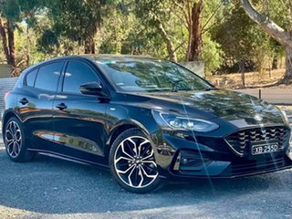 2018 Ford Focus SA 2019MY ST-Line Black 8 Speed Automatic Hatchback.