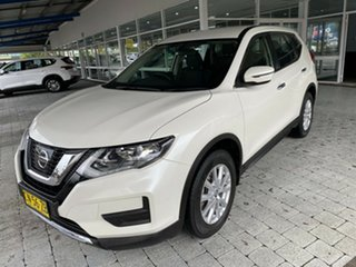2017 Nissan X-Trail ST Ivory Pearl Constant Variable Wagon.