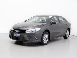 2017 Toyota Camry AVV50R MY16 Altise Hybrid Grey Continuous Variable Sedan.