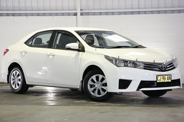 Used Toyota Corolla ZRE172R Ascent S-CVT West Gosford, 2016 Toyota Corolla ZRE172R Ascent S-CVT White 7 Speed Constant Variable Sedan