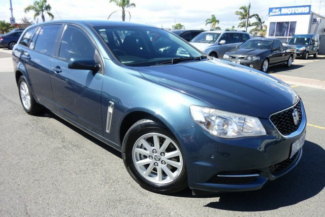 Used Holden Commodore VF MY14 Evoke Sportwagon Cheltenham, 2013 Holden Commodore VF MY14 Evoke Sportwagon Blue 6 Speed Sports Automatic Wagon