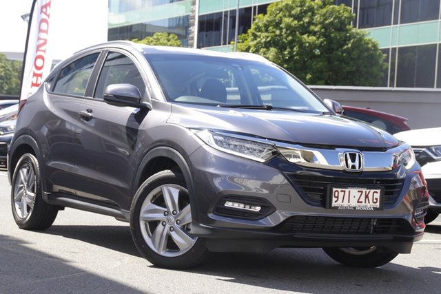 Demo Honda HR-V MY21 VTi-S Newstead, 2020 Honda HR-V MY21 VTi-S Modern Steel 1 Speed Constant Variable Hatchback