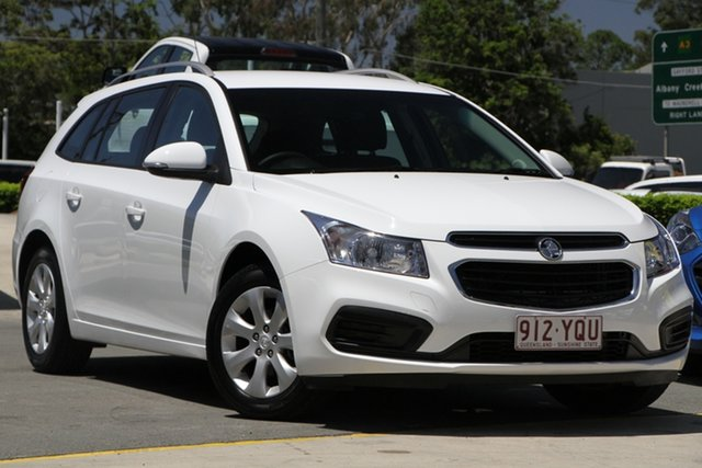 Used Holden Cruze JH Series II MY16 CD Sportwagon Aspley, 2015 Holden Cruze JH Series II MY16 CD Sportwagon White 6 Speed Sports Automatic Wagon
