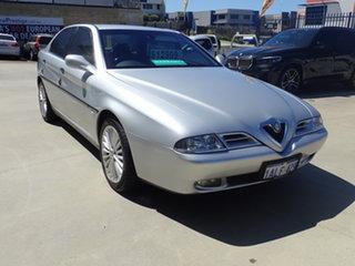 1999 Alfa Romeo 166 3.0 V6 Adventurine Silver 4 Speed Auto Sportronic Sedan.