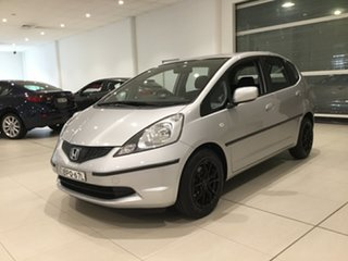 2010 Honda Jazz GE MY10 VTi Silver 5 Speed Automatic Hatchback