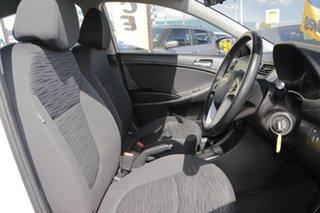 2018 Hyundai Accent RB6 MY19 Sport Chalk White 6 Speed Sports Automatic Sedan
