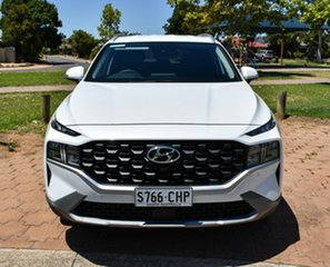 2020 Hyundai Santa Fe Tm.v3 MY21 Active White Cream 8 Speed Sports Automatic Wagon.