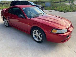2001 Ford Mustang Cobra Red 5 Speed Manual Coupe.