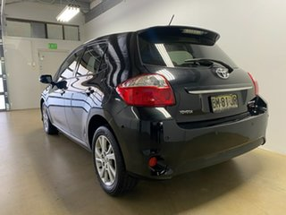 2011 Toyota Corolla ZRE152R MY11 Ascent Sport Black 6 Speed Manual Hatchback