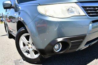 2008 Subaru Forester S3 MY09 XS AWD Premium Sage Green 4 Speed Sports Automatic Wagon.