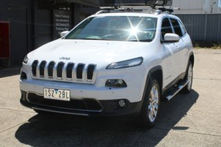 2015 Jeep Cherokee KL MY15 Limited (4x4) White 9 Speed Automatic Wagon