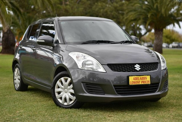 Used Suzuki Swift RS415 Cheltenham, 2010 Suzuki Swift RS415 Grey 5 Speed Manual Hatchback