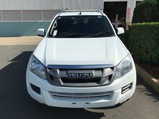 2014 Isuzu D-MAX MY14 SX Crew Cab 4x2 High Ride White 5 speed Automatic Utility.