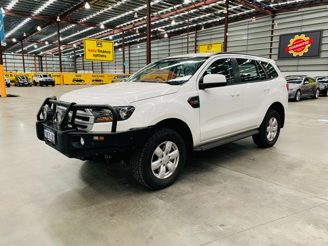 Used Ford Everest UA 2018.00MY Ambiente Canning Vale, 2018 Ford Everest UA 2018.00MY Ambiente White 6 Speed Sports Automatic SUV