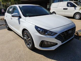 2020 Hyundai i30 Polar White 6 Speed Automatic i-30 (PD) 5-DOOR.
