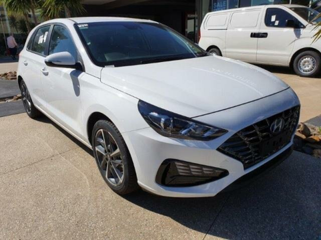 New Hyundai i30 Wangaratta, 2020 Hyundai i30 Polar White 6 Speed Automatic i-30 (PD) 5-DOOR
