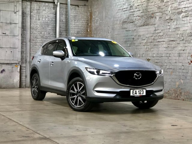 Used Mazda CX-5 KF4WLA GT SKYACTIV-Drive i-ACTIV AWD Mile End South, 2017 Mazda CX-5 KF4WLA GT SKYACTIV-Drive i-ACTIV AWD Silver 6 Speed Sports Automatic Wagon