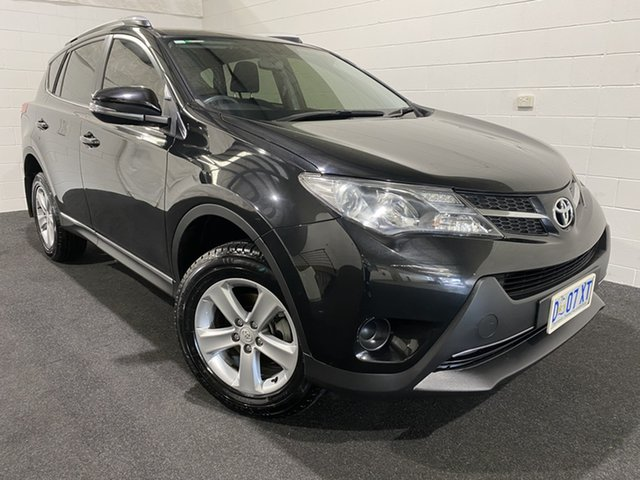 Used Toyota RAV4 ZSA42R GX 2WD Glenorchy, 2013 Toyota RAV4 ZSA42R GX 2WD Black 6 Speed Manual Wagon