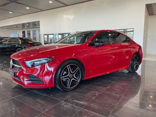 2019 Mercedes-Benz A-Class V177 A200 DCT Red/Black 7 Speed Sports Automatic Dual Clutch Sedan