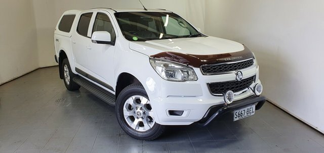 Used Holden Colorado RG MY14 LX Crew Cab Elizabeth, 2014 Holden Colorado RG MY14 LX Crew Cab White 6 Speed Sports Automatic Utility