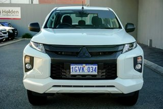 2019 Mitsubishi Triton MR MY20 GLX Double Cab 4x2 ADAS White 6 Speed Sports Automatic Utility