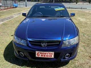 2004 Holden Calais VZ Blue 5 Speed Sports Automatic Sedan.