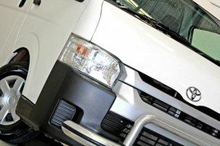 2014 Toyota HiAce KDH221R MY14 SLWB White 5 Speed Manual Van.