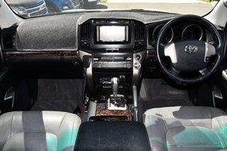 2008 Toyota Landcruiser UZJ200R VX White 5 Speed Sports Automatic Wagon