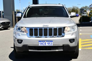 2012 Jeep Grand Cherokee WK MY2012 Overland Silver 5 Speed Sports Automatic Wagon