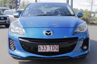 2013 Mazda 3 BL1072 MY13 SP20 SKYACTIV-Drive SKYACTIV Blue 6 Speed Sports Automatic Sedan