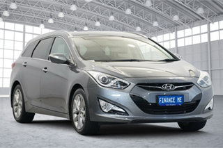 2014 Hyundai i40 VF2 Elite Titanium Silver 6 Speed Sports Automatic Sedan.