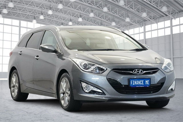 Used Hyundai i40 VF2 Elite Victoria Park, 2014 Hyundai i40 VF2 Elite Titanium Silver 6 Speed Sports Automatic Sedan