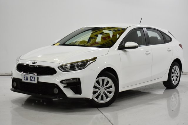 Used Kia Cerato BD MY20 S Brooklyn, 2019 Kia Cerato BD MY20 S White 6 Speed Sports Automatic Hatchback