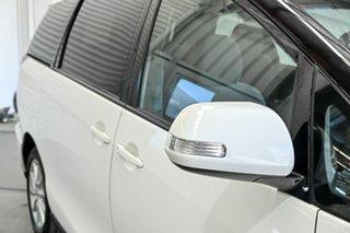 2016 Toyota Tarago ACR50R GLX White 7 Speed Constant Variable Wagon.