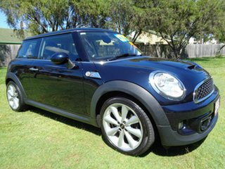 2012 Mini Coupe R58 Cooper S Blue 6 Speed Sports Automatic Coupe