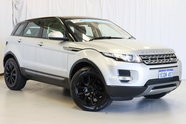 Used Land Rover Range Rover Evoque L538 MY14 Pure Wangara, 2014 Land Rover Range Rover Evoque L538 MY14 Pure Silver 9 Speed Sports Automatic Wagon