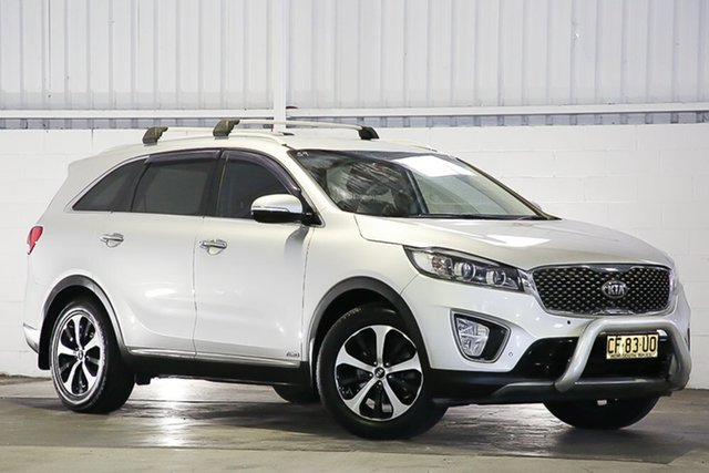 Used Kia Sorento UM MY16 SLi AWD West Gosford, 2015 Kia Sorento UM MY16 SLi AWD Silver 6 Speed Sports Automatic Wagon