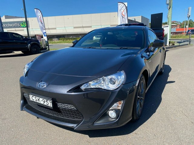 Used Toyota 86 ZN6 GT Cardiff, 2014 Toyota 86 ZN6 GT Grey 6 Speed Manual Coupe