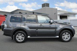 2016 Mitsubishi Pajero NX MY16 GLX Grey 5 Speed Sports Automatic Wagon.