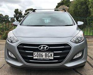 2015 Hyundai i30 GD3 Series II MY16 Active Grey 6 Speed Sports Automatic Hatchback.