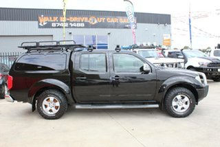 2009 Nissan Navara D40 ST-X (4x4) Black 5 Speed Automatic Dual Cab Pick-up