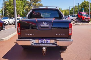 2013 Nissan Navara D40 S5 MY12 ST-X 550 Black 7 Speed Sports Automatic Utility