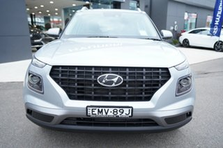 2020 Hyundai Venue QX.V3 MY21 Active Typhoon Silver 6 Speed Automatic Wagon