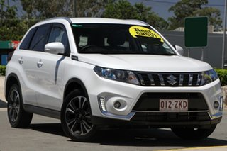 2019 Suzuki Vitara LY Series II Turbo 2WD Pearl White 6 Speed Sports Automatic Wagon.