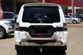 2020 Mitsubishi Pajero NX MY21 Exceed White 5 Speed Sports Automatic Wagon.